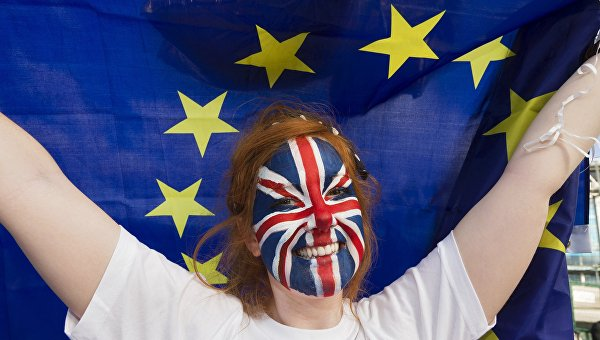 Сторонница членства Великобритании из Евросоюза. Архивное фото