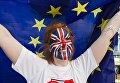 Сторонница членства Великобритании в Евросоюзе. Архивное фото