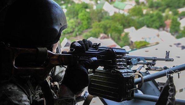 Военный в зоне АТО. Архивное фото