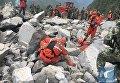 Оползень сошёл вблизи населенного пункта Деси уезда Моасянь провинции Сычуань в Китае