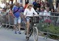 Супруга президента Франции 64-летняя Бриджит Макрон