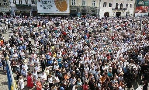 Общегородское вече во Львове