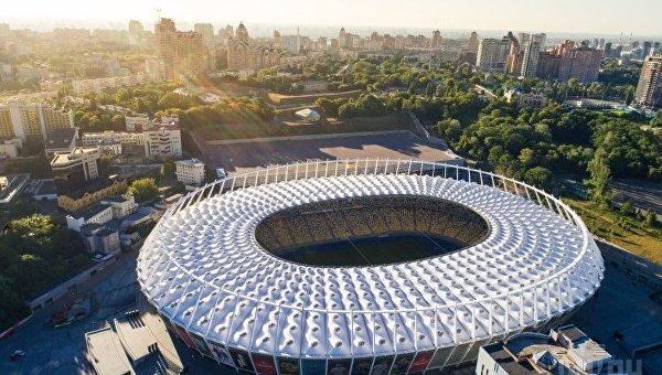 Вид на НСК Олимпийский
