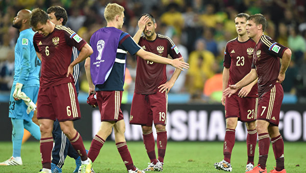 Чемпионат мира - 2014. Матч Алжир - Россия