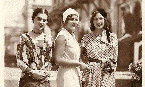 Самые красивые девушки Европы 1930 года