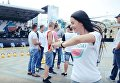 Киев отметил День молодежи. Видео