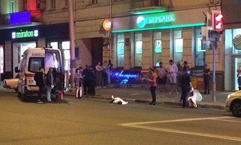 В центре Харькова зарезали иностранного студента