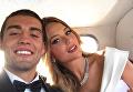 Полузащитник Реала Ковачич с женой Изабель