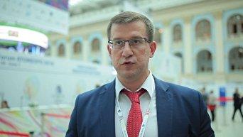 Старший вице-президент по коммерции и международному бизнесу топливной компании госкорпорации Росатом Олег Григорьев