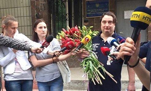 Игорь Гужва вышел на свободу под залог