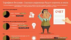 Тарифное безумие. Сколько украинцы заплатят в июле