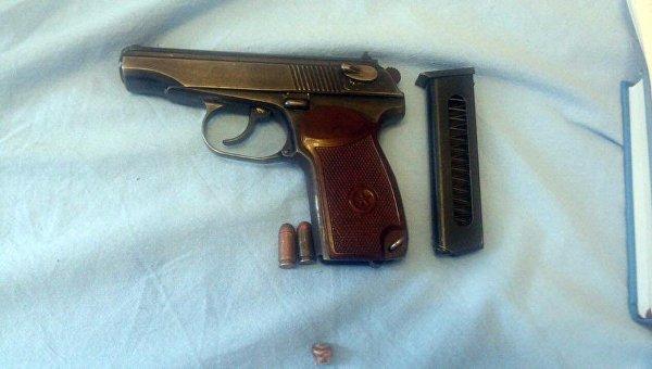 В Киеве застрелили иностранца, у погибшего найден арсенал оружия