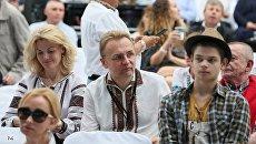 Мэр Львова Андрей Садовый с супругой Катериной на Alfa Jazz Fest