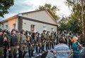 Столкновение между правоохранителями, селянами и бойцами Донбасса