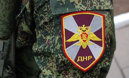 Нашивка на военнослужащем ДНР. Архивное фото