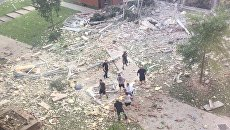 На месте взрыва в общежитии американского Кентукки