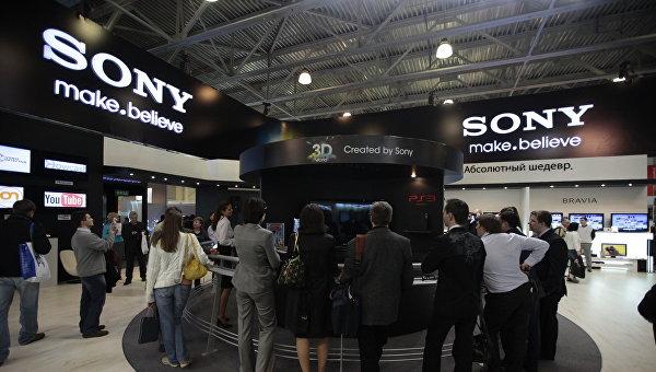Стенд компании Sony на выставке. Архивное фото