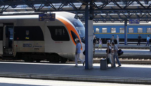 Железнодорожный вокзал г. Киев