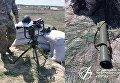 Испытания нового ракетного комплекса Корсар