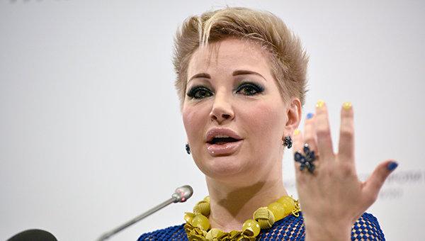 Вдова экс-депутата Госдумы РФ Дениса Вороненкова, оперная певица Мария Максакова. Архивное фото