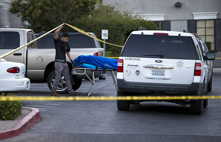 Мужчина ранил двух человек в больнице Лас-Вегаса и покончил с собой