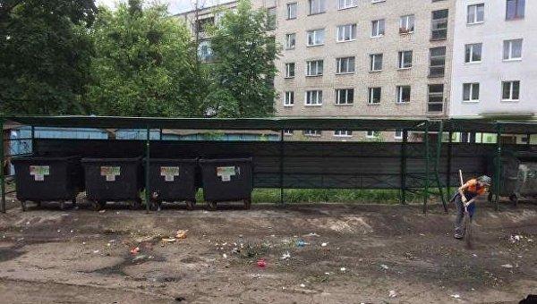 Вывоз мусора во Львове. Архивное фото