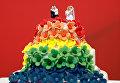Торт в честь однополых браков