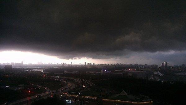 Шторм в Москве, 30 июня 2017
