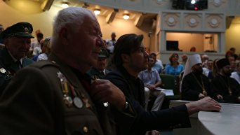 В Киеве отметили 110-летие командира УПА Романа Шухевича