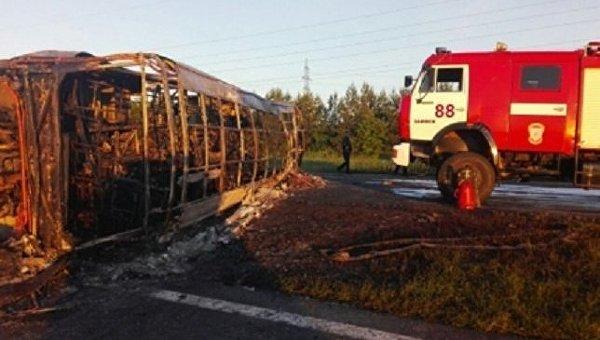 Столкновения автобуса и бензовоза в Татарстане
