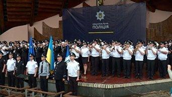 Оркестры Нацполиции установили рекорд Украины