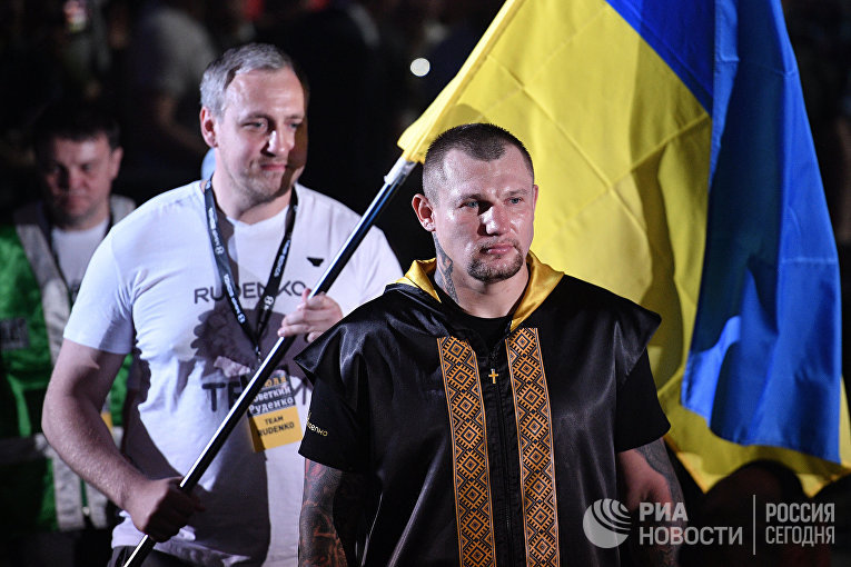 Александр Поветкин (Россия) и Андрей Руденко (Украина) в титульном поединке за титулы WBO International и WBA International