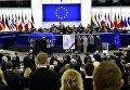Церемония прощания с экс-канцлером Германии Гельмутом Колем