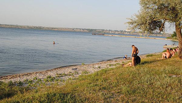 Река Ингул под Николаевом. Архивное фото