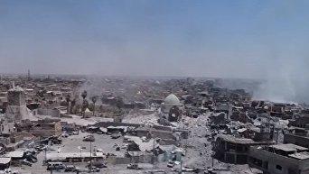 Последний оплот террористов в Ираке. Мосул съемки беспилотника. Видео
