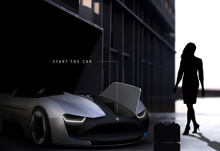 Илон Маск случайно показал новый кабриолет