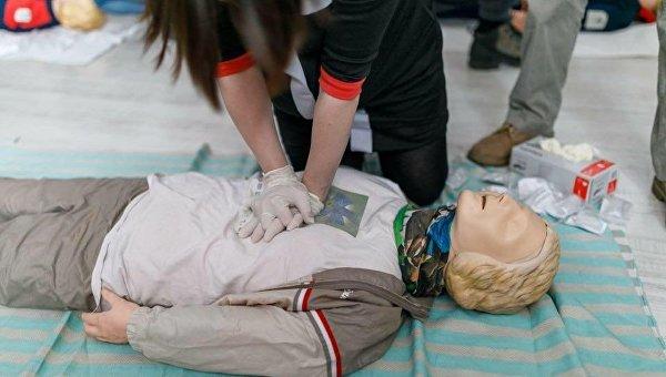 Тренинг по предоставлению первой медпомощи