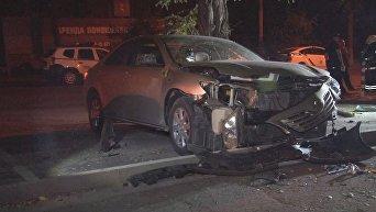 В центре Одессы подорвали автомобиль бывшего депутата