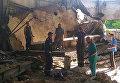 В Кривом Роге бетонная плита раздавила двух человек в заброшенном цеху