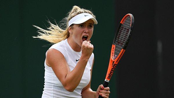 Выступление украинской теннисистки Элины Свитолиной на Уимблдоне