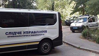 На месте убийства в Киеве. Архивное фото
