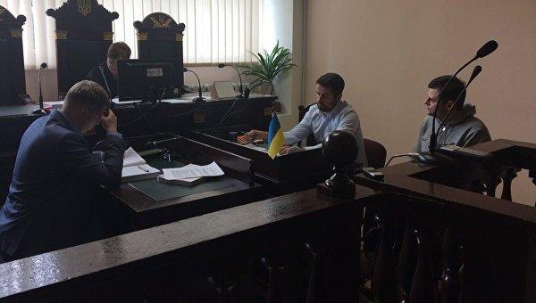 Валерий Постный в суде Львова