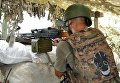Украинские военные на передовой в Марьинке