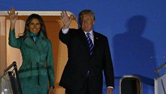 Трамп прибыл с визитом в Польшу