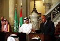 Совещание глав МИД Египта, Саудовской Аравии, ОАЭ и Бахрейна. Архивное фото