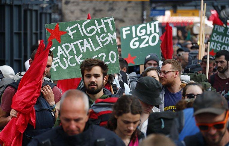 ВГамбурге открывается саммит G20