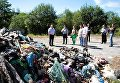 Львовский мусор на Прикарпатье