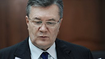 Бывший президент Украины Виктор Янукович. Архивное фото