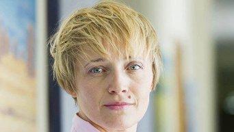 Заместитель министра агрополитики по вопросам евроинтеграции Ольга Трофимцева