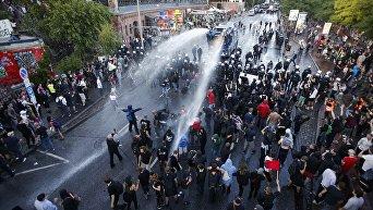 Беспорядки накануне саммита G20
